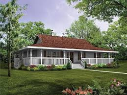 100 country house with wrap around porch plan 92381mx a