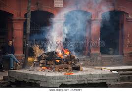 human cremation cremation dead burning ghats stock photos cremation dead