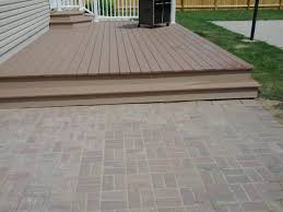 Basket Weave Brick Patio by Paver Patio Photo Gallery