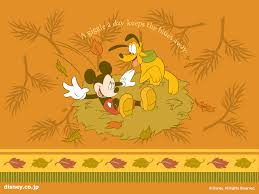 disney thanksgiving backgrounds fall mickey mouse wallpaper wallpapersafari