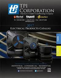 Lighting Catalog Tpi Corporation Electric Heat Industrial Fans U0026 Lights