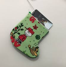 brown and woodstock ornament and gift card holder for the