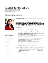 Kindergarten Teacher Resume Examples by Sample Computer Teacher Resume India Contegri Com