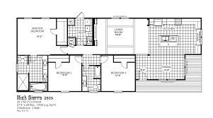 1 bedroom mobile homes floor plans high sierra 2805 oak creek homes