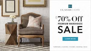 classic home u0027s warehouse sale classic home promotional events