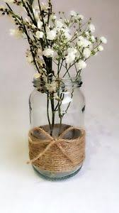 Vintage Vases Wedding 10 X Glass Jars Vintage Vases Wedding Centrepiece Shabby Chic