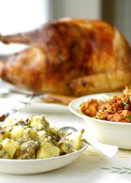 portuguese turkey with two stuffings recipe leite s culinaria
