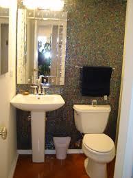 tile powder room ideas complement interior small powder room decor