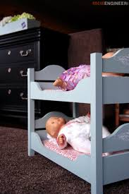Doll Bunk Beds Plans 18in Doll Bunk Beds Rogue Engineer