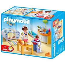 chambre d enfant playmobil playmobil 4286 chambre de bébé playmobil achat prix fnac