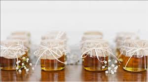 honey jar favors unique wedding favor ideas allan house