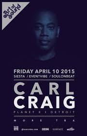 The Art Of Sound Design Ra Art Of Sound Carl Craig At Tba San Diego San Diego 2015