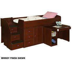Black Twin Captains Bed Berg Furniture Captain U0027s Bed With Hideaway Desk And Stairs 22 721