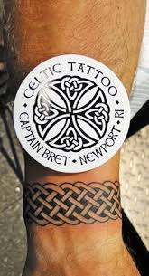 celtic wristband design all tattoos