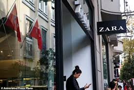 zara siege social zara clothes in istanbul tagged to highlight labor dispute daily