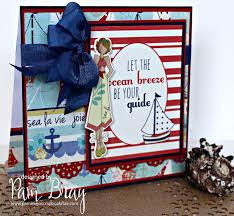 scrapbook flair pam bray designs nautical bliss seashell