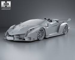 lamborghini veneno model car lamborghini veneno roadster 2014 3d model in sport cars 3dexport