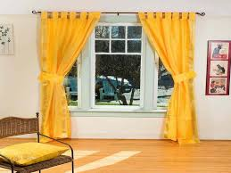 Tie Back Kitchen Curtains by Blue And Yellow Kitchen Curtains Decorating Windows U0026 Curtains