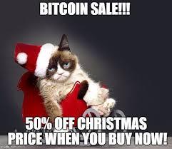 Grumpy Cat Memes Christmas - bitcoin s christmas sale is upon us bitcoin and