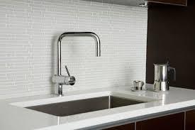 Love Blue Glass Tiles White Glass Front Kitchen Cabinets With - White glass tile backsplash