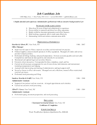 example of administrative assistant resume 9 simple job resume example hvac resumed 9 simple job resume example