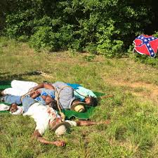 Confederate Flag In Virginia Contesting The Roadways The Moore U0027s Ford Lynching Reenactment And