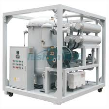 mineral oil ls for sale zja series two stage high efficiency vacuum transformer oil purifier