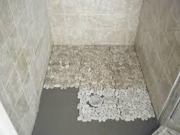 bathroom shower floor ideas pebble for shower floor tile flooring ideas intended for tile