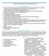 Employment Specialist Resume Human Resource Manager Resume 20 Hr Manager And Compensation
