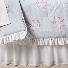 rose bouquet comforter full queen blue 3pc simply shabby chic
