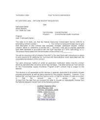 10 service termination letter templates free sample