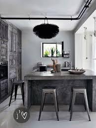 industrial kitchen islands kitchen industrial kitchen with concrete kitchen island and