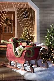 24 attractive sleigh decoration inspirations running