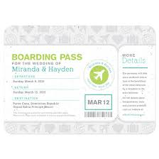 Boarding Pass Wedding Invitations Boarding Pass Wedding Invitation Plantable Wedding Invitations