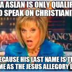 Nancy Grace Meme - false facts nancy grace meme generator imgflip