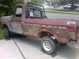 rusty pickup truck under new prairie village regulations restored pickup won t pass