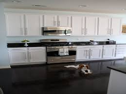 granite countertop pictures of off white kitchen cabinets best