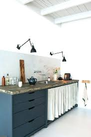rideau meuble cuisine meuble cuisine avec rideau coulissant meuble avec rideau coulissant