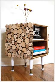 Diy Wooden Bedside Table by Transformed Tree To Table Woods Target And Legs