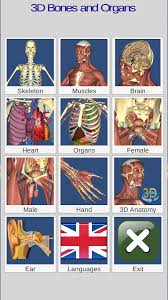 Interactive 3d Anatomy 3d Bones And Organs Anatomy Android Apps On Google Play