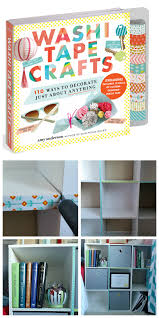 washi tape crafts review u0026 cube shelf makeover my pinterventures