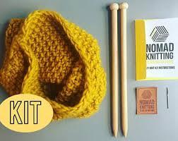 knitting kits etsy uk