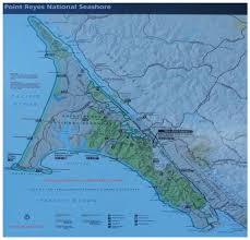 Marin Map Map U2013 Point Reyes National Seashore Taste Marin