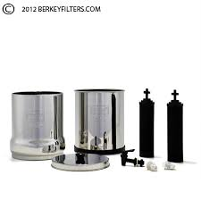 Berkey Water Filter Stand by Big Berkey Water Filter System With 2 Black Berkey Filters