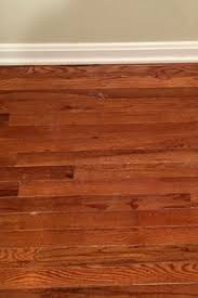 restaining hardwood floors with gel stain requires minimal sanding
