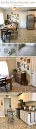 tile designs for kitchen floors painted vinyl linoleum floor makeover ideas fox hollow cottage