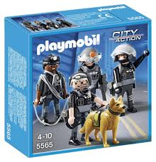 playmobil u2013 5565 tactical unit team playmobil and toy