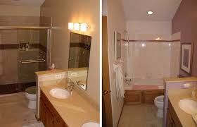 bathroom remodel ideas before and after photo gallery of before and after small bathroom remodel