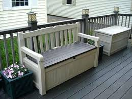 balcony storage bench building a wooden deck over a concrete one