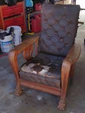Vintage Recliner Chair Morris Chair Ebay